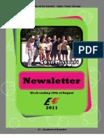 Newsletter Week 10 2011