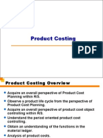 Product Cost Planning-Material Ledger