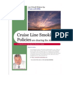 Cruise Line Smoking Policy Guide
