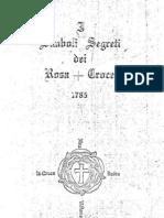 Simboli Segreti Dei Rosacroce