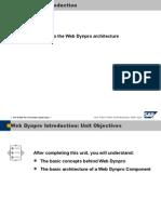 01 0 Web Dynpro Introduction