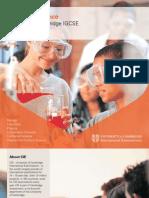 IGCSE Science Brochure