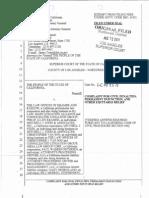 Complaint by Attorney General Defendents Kramer & Stein