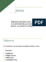 BEL120 - Adjectives