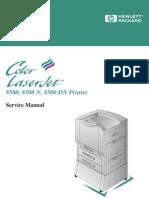 HP Color LaserJet 8500 Service Manual