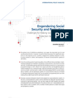 Engendering Social Security and Protection