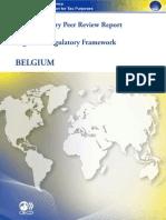 Supplementary Report Belgium_August 2011