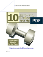 10 Exercises to Unleash Your Muscles