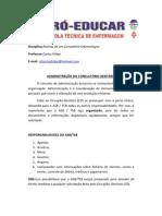 AULA 5 - Administração do Consultório Dentário