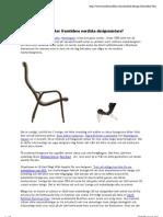 Möbelklassiker av kända möbeldesigner
