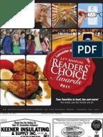 Readers Choice - 2011