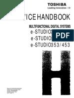 toshiba e studio281c 351c 451c service handbook