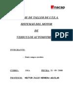 1° Informe MOTOR 2008