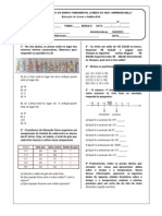 Exercício - Turma A-II - 1°