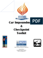 Car Impoundment & Checkpoint Toolkit
