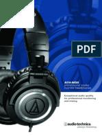 Manual Ath m50