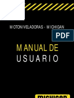 Manual de Usuarios Motoniveladoras Michigan MM135C MM165C MM220C
