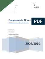 Rapport Java Vecteur