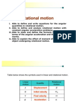 Chapter 7 Rotational Motion - Lecturer