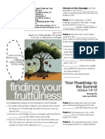 Fruitfulness 6 Josh 1-6-13 Handout 082811