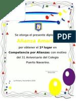 Diploma Amarilla