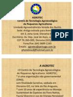 Centro de Tecnologia Agroecológica de Pequenos Agricultores no Vale do Rio Araguaia