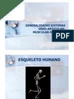 General Ida Des Sistema Oste Artro Muscular y Nervioso [Modo de ad