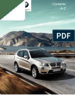 Руководство по эксплуатации BMW X3 F25 c iDrive