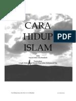 Cara Hidup Islam
