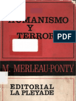 Merleau Ponty M - Humanismo Y Terror
