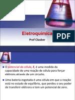 2aula potenciais de uma célula e a energia livre ELETROQUÍMICA