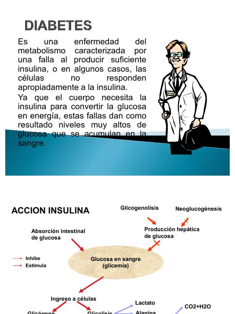 diabetes no tratada conduce a la esquizofrenia