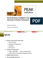 Obiee 11g - Overview of Action Framework