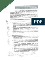 Pacto Ético y Político  Suscrito por los congresistas de Ancash