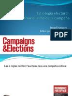 Estrategia electoral:Cómo construir el alma de la campaña - Israel Navarro