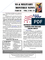 Veterans & Military Families Monthly News-August 2011 Part II