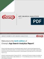 Chomp Charts July