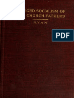 Ryan. Alleged socialism of the church fathers. 1913.