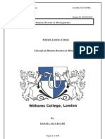 Human Resources Management- ASSG 1