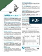 Competitor Gt Spec Sheet Esp
