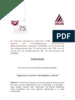 Concurso Foto CIECAS-IPN Mexico