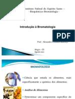Aula Introdução à Bromatologia