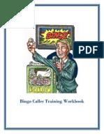 Bingo Caller Training Workbook
