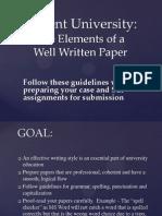 59508Well Written Paper