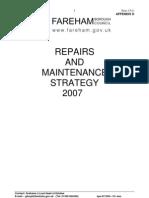 Gll-071203- Draft Repairs and Maintenance Strategy