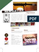 Newsletter Dojo Samurai Maio 2011