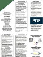 XXI Encuentro de Profesores y Estudiantes Del Colegio de Bibliotecologia de La UNAM