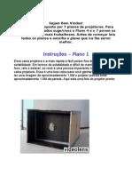 8 manuais lente projetora PDF