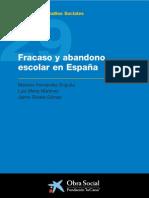 62858598 Fracaso y Abandono Escolar en Espana