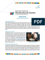 Multicultural Newsletter August 2011